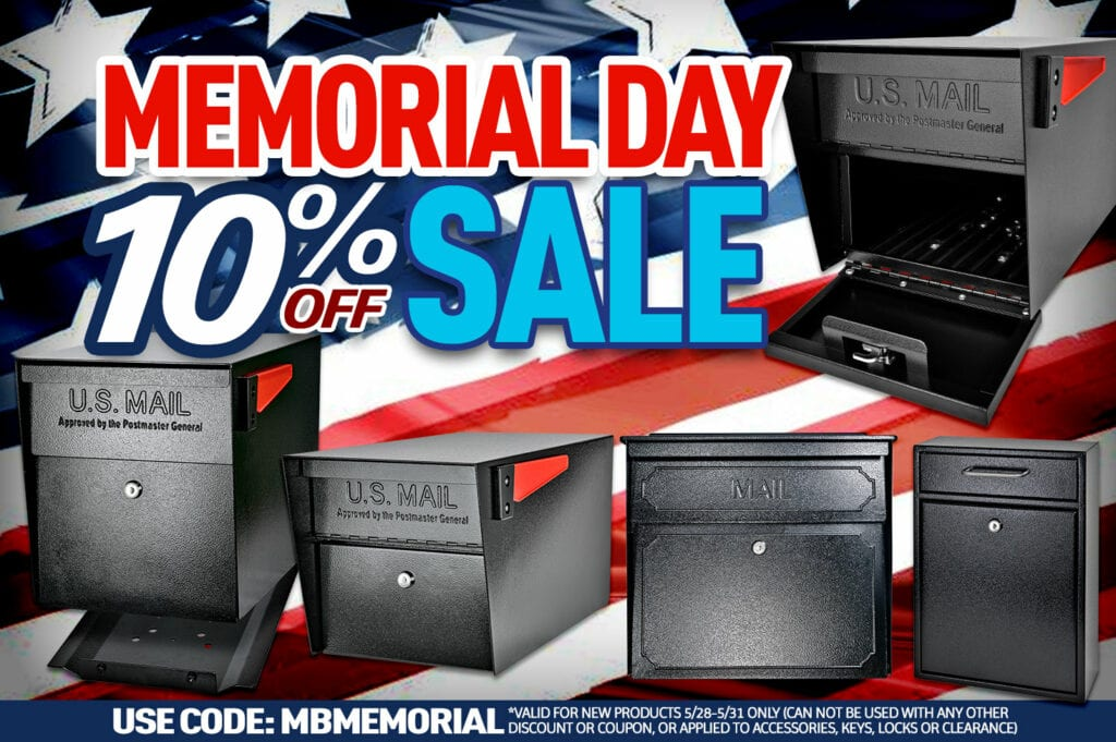 Memorial day sale 20201! In honor of the brave service men and women who have made the ultimate sacrifice for our country, we are proud to offer 10% off purchases* made this memorial day weekend. Use Code: MBMEMORIAL at checkout *Valid for NEW products 5/28-5/31 ONLY (can not be used with any other discount or coupon, or applied to accessories, keys, locks or clearance)